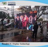 Scène extérieure de moniteur de performances de l'écran LED du panneau de publicité (Outdoor P3.91/ P4.81/ P5.95/ P6.25)