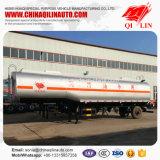 Remorque facultative de camion-citerne d'huile de graissage de compartiment de Tri-Essieu semi