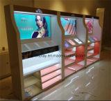 De kosmetische Showcase van de Vertoning met het Vloeibare Schilderen, de Plank van de Vertoning