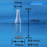 Gute Qualitätstransparente Glaswein-Flasche