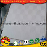 Revestimento de PVC branco de 7 mm do teto de gesso com folha de alumínio de volta