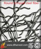 Runde quetschverbundene Stahlfaser