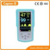 Портативное устройство ветеринарного контроля Capnograph ETCO2+(Capno монитора SpO2-II)