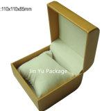 Lederner Uhr-Kasten des Geschenk-Jy-Wb08