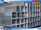 Tubo d'acciaio quadrato galvanizzato Caldo-Tuffato/tubo d'acciaio saldato quadrato (FLM-RM-024)