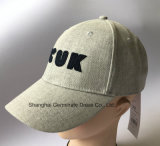 Chapeau de base-ball de mode dans le tissu de toile avec le '' fcuk '' Emb à l'avant (LY083)