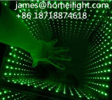 RGBフルカラーDMX制御LED段階ライト党ディスコの無限ミラー3D LEDのダンス・フロア