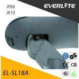 30W에서 160W에 Everlite Ik10 IP66 LED 가로등
