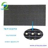 Im Freien Bildschirmanzeige-Baugruppen-einzelne Farben-weißer Farbe LED-Schaukasten LED-P10