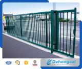 Porte coulissante en fer forgé de haute qualité avec prix compétitif