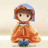 Прелестная безопасности фаршированные мягкие ткани кукла для сна
