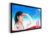 Vídeo del panel de visualización del LCD de 65 pulgadas que hace publicidad del jugador, indicador digital