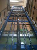 سعر جيّدة هيدروليّة شحن مصعد مع يحمي شبكة