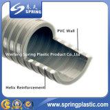 Manguito espiral reforzado plástico del tubo del jardín del agua del polvo de la succión del PVC con buena calidad