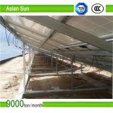 Sistemas de tierra solares del montaje, tormento montado tierra solar, estructura de tierra para los sistemas del panel solar