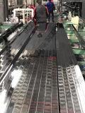 При нажатии кнопки труба из нержавеющей стали