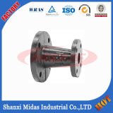 Ggg50 tubo de hierro fundido dúctil fiitting reductor de doble brida