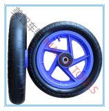 Rotella posteriore della gomma di gomma piuma dell'unità di elaborazione della sedia a rotelle da 12 pollici