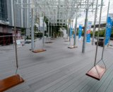 Деревянный пластичный составной полый Decking