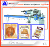 Machine à emballer automatique de biscuit de gâteau de pain