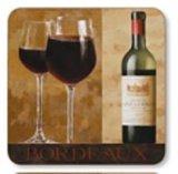 бутылка Бордо 750ml для вина с отделкой верхней части винта