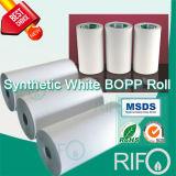 Papier de synthèse thermique BOPP thermosensible et respectueux de l'environnement avec certification FDA