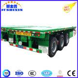 3axles behälter-Schlussteil-LKW des Verschiffen-40feet Flachbett/halb Schlussteil