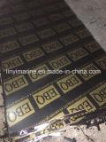 Shuttering/film a fait face au matériau de construction de colle du faisceau WBP de peuplier de contre-plaqué