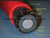 15kv Primary Ud Cable Jacketed Aluminum или Copper Conductor. Изоляция Trxlp. Чуть-чуть медные концентрические нейтрали. Куртка полиэтилена