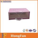 Bolsa de embalaje de papel kraft blanco / Bolsa de compras / Bolsa de regalo con cinta nudo.