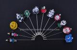 Новый стиль творческой сплавов металла Рождество Brooch Breastpin очаровательный мультфильм детей