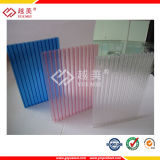 Le polycarbonate solide et le polycarbonate &Corrugated par polycarbonate creux de Guangzhou Yuemei avec 10 ans de garantie et n'obtiennent jamais le matériau 100% de Vierge de jaune