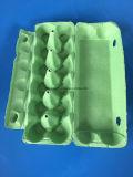卵の皿のボール紙の卵はPlupの鶏卵箱12の穴の卵の包装ボックスをカートンに入れる