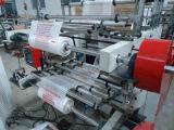 Rollender flacher Beutel, der Maschine herstellt
