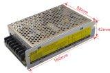 150W 12V de Constante Transformator van het Voltage voor LEIDENE Strook