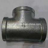 Mit einem Band versehene galvanisierte Stück-formbares Eisen-Rohrfittings
