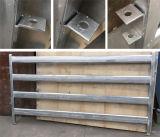 Panneaux galvanisés portatifs lourds de yards de moutons de 42 x de 115 x de 2mm