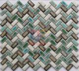Knit-Form Fambe keramische Dekoration-Mosaik-Fliese (CST294)