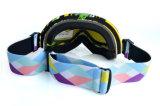 Lunettes sportives personnalisées de ski de PC avec les lentilles amovibles