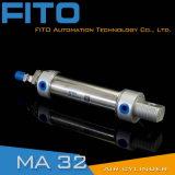 Cilindri del cilindro dell'acciaio inossidabile di mA piccoli del mini cilindro pneumatico dell'aria