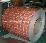Il colore ondulato del materiale di tetto PPGI ha ricoperto la bobina d'acciaio