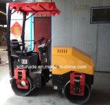二重ドラムの高品質の乗車2トンの道ローラー(FYL-900)
