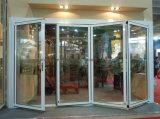 Portello Bi-Piegante del balcone di vetro di alluminio con il profilo termico della rottura