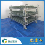 50*50mm elektrischer galvanisierter Metallspeicher-Rahmen/Maschendraht-Behälter für Wearhouse Speicher