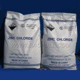SGS prüfen 98% Indurstrial das Zink-Chlorid auf Batterie-Material