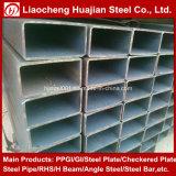 tubo de acero rectangular negro de 50mmx30m m con precio razonable