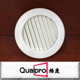 Difusor redondo do respiradouro de ar com amortecedor plástico AR6311