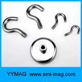 ネオジムの鍋の磁石は/Magneticの鋼鉄ホックを引っ掛ける