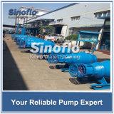 Pompe submersible de flottement de transfert de l'eau d'étang d'écoulement axial