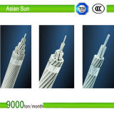 Надземной алюминиевой кабель усиленный сталью ACSR проводника